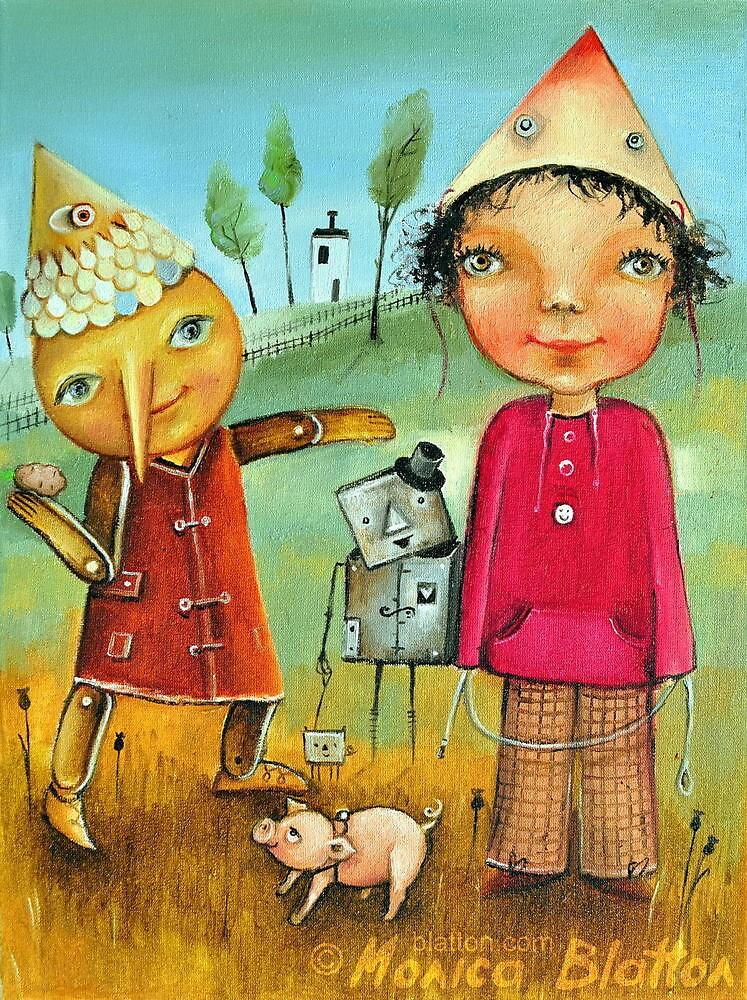 Fetch by Monica Blatton