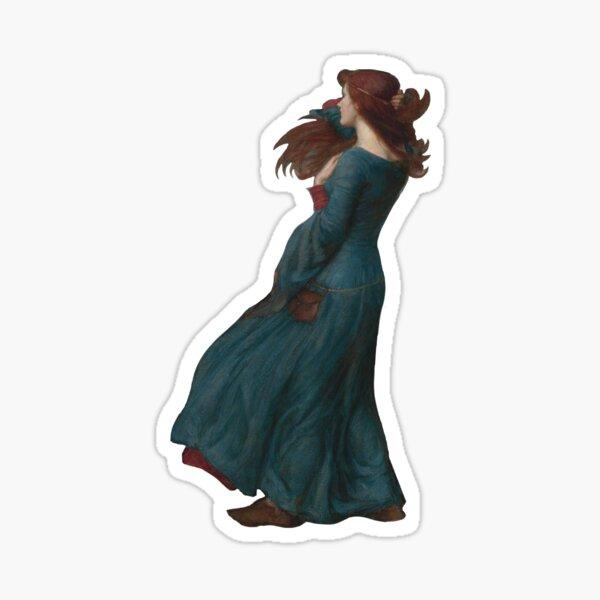 "Waterhouse's ""Miranda, The Tempest"" Sticker"
