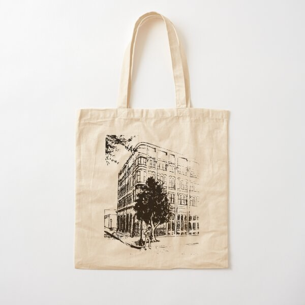 a building on bull st Cotton Tote Bag