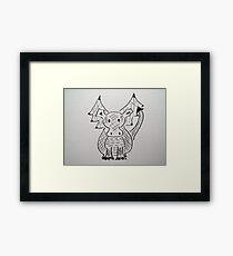 Little Dragon Framed Print