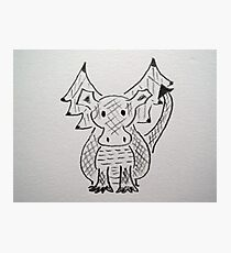 Little Dragon Photographic Print