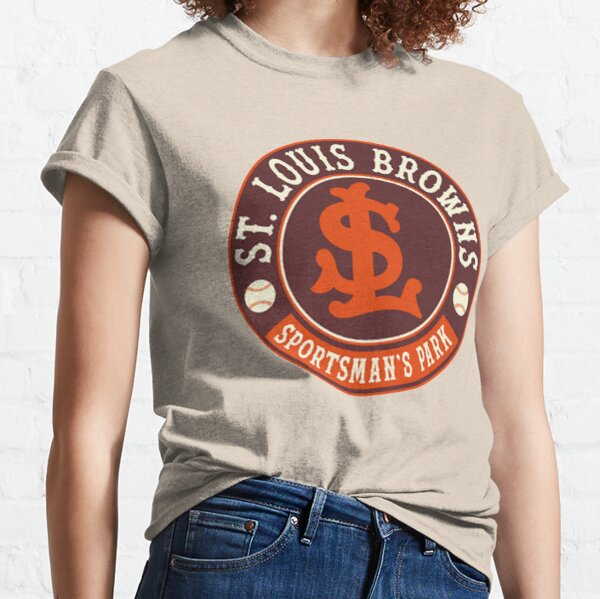 Defunct - St Louis Browns - Retro Classic T-Shirt