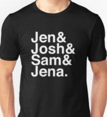 Jennifer & Josh & Sam & Jena. (inverse) T-Shirt