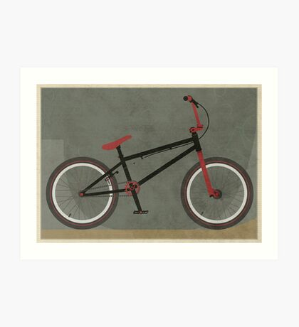 BMX Bike Art Print