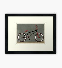 BMX Bike Framed Print