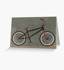 BMX Bike Greeting Card