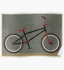 BMX Bike Poster
