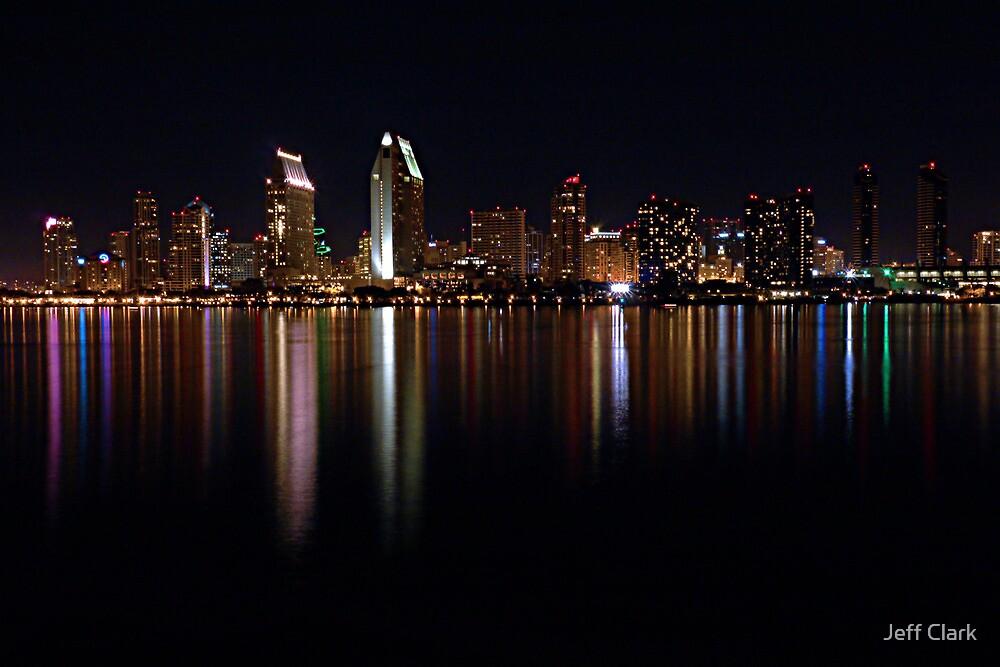San Diego Skyline by Jeff Clark