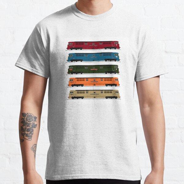 BRITISH RAIL WESTERN LOCOMOTIVES  Classic T-Shirt