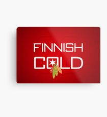 Finnish Cold Metal Print