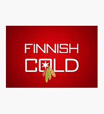 Finnish Cold Photographic Print