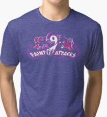 Dark Types - Faint Attacks Tri-blend T-Shirt