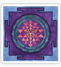 Sri Yantra 01 Sticker