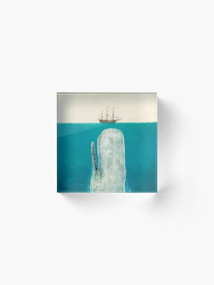 Alternate view of The Whale (Option) Acrylic Block