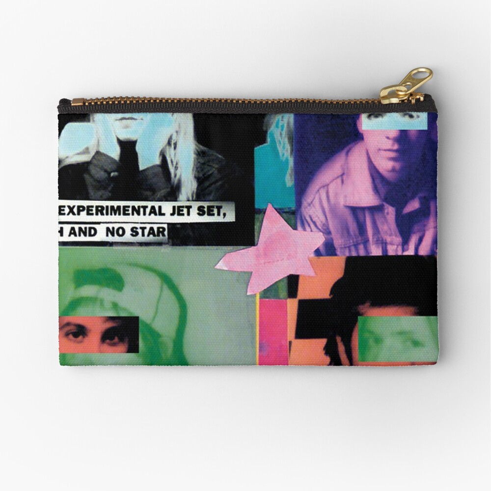 Sonic Youth Band Tshirt Zipper Pouch