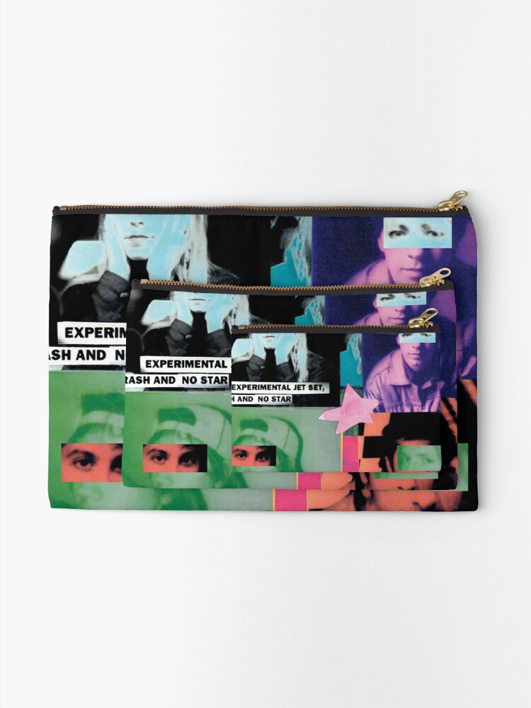 Alternate view of Sonic Youth Band Tshirt Zipper Pouch