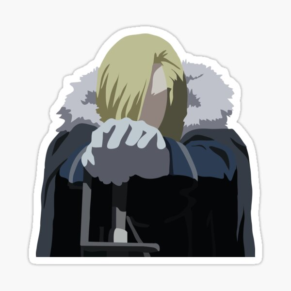 olivier armstrong stickers redbubble