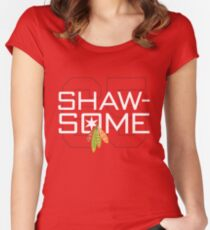 Shaw-Some Women's Fitted Scoop T-Shirt