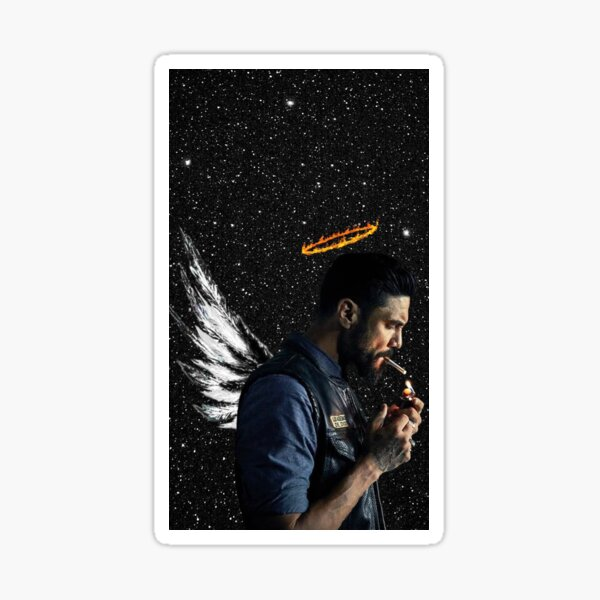 Angel Nightsky Sticker