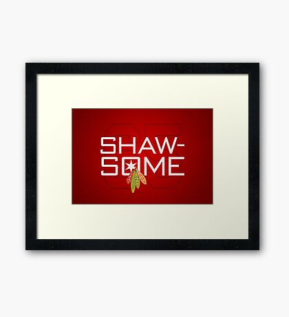 Shaw-Some Framed Print