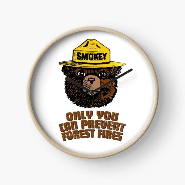 Smokey The Bear Clock