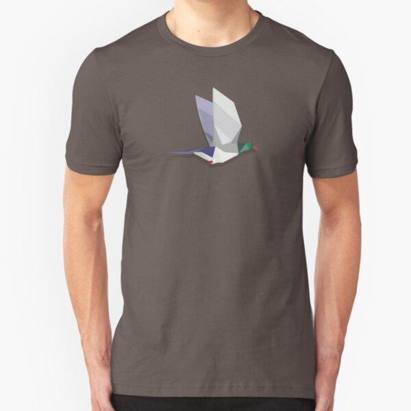 Flying Kererū Slim Fit T-Shirt