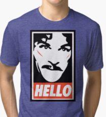 Hello... Tri-blend T-Shirt