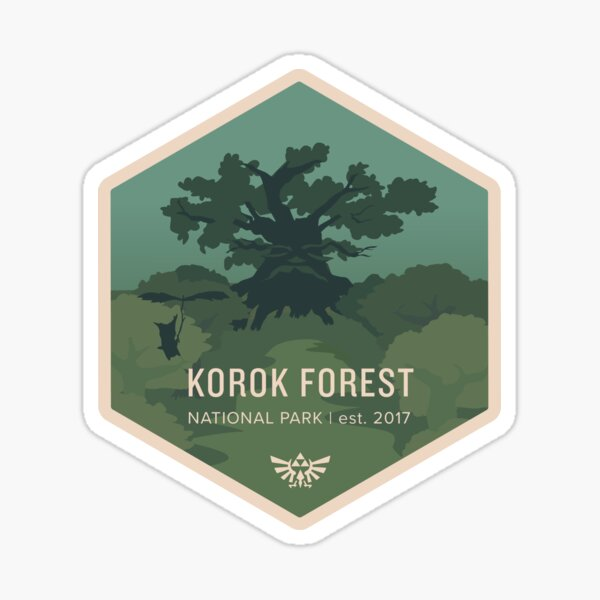 Korok Forest National Park Sticker