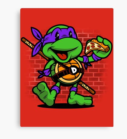 Vintage Donatello Canvas Print