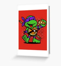 Vintage Donatello Greeting Card