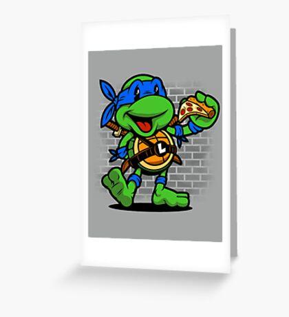 Vintage Leonardo Greeting Card