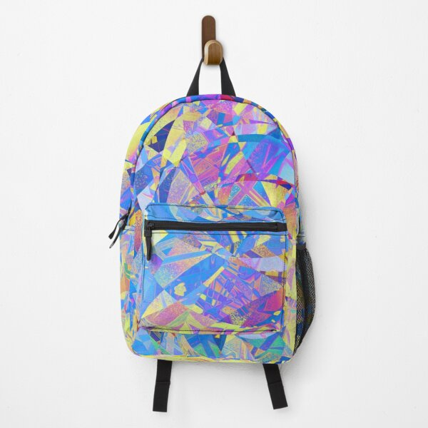 Colorful Artsy Abstract Unique Pattern Backpack