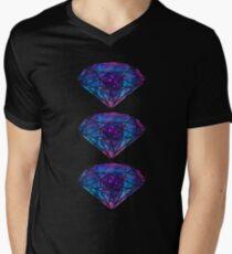 diamonds II Men's V-Neck T-Shirt