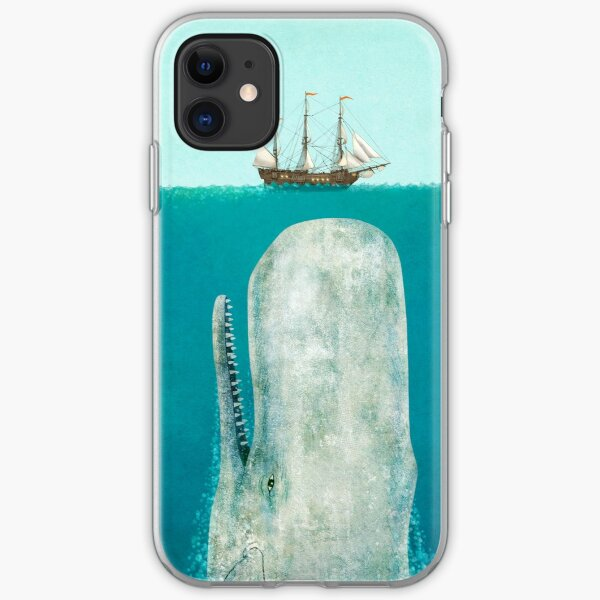The Whale  iPhone Soft Case