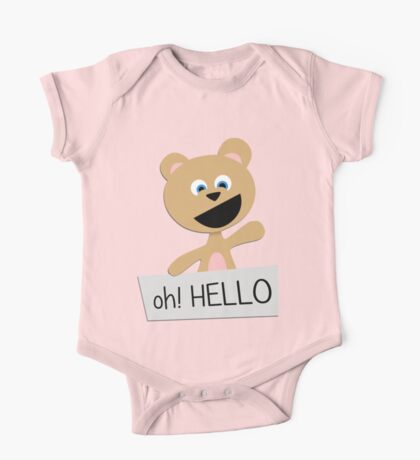 Roar says HELLO! Kids Clothes