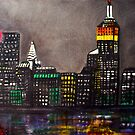New York Skyline by Laura Barbosa
