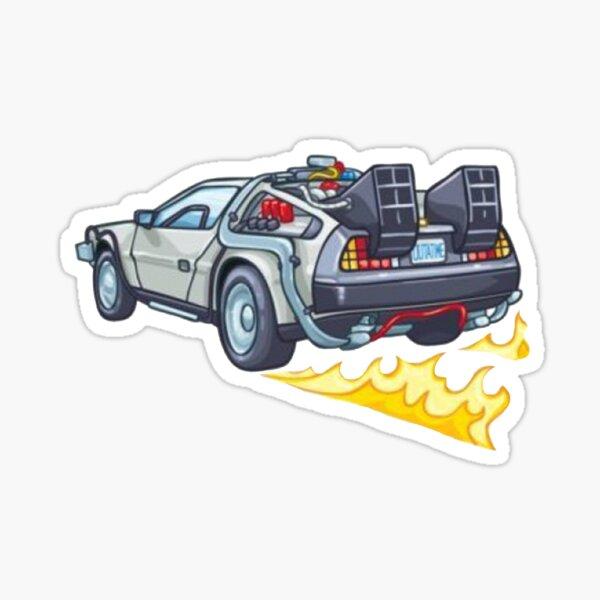 Kehre in die Zukunft zurück Sticker