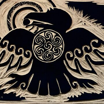 Shield Raven by CapallGlas