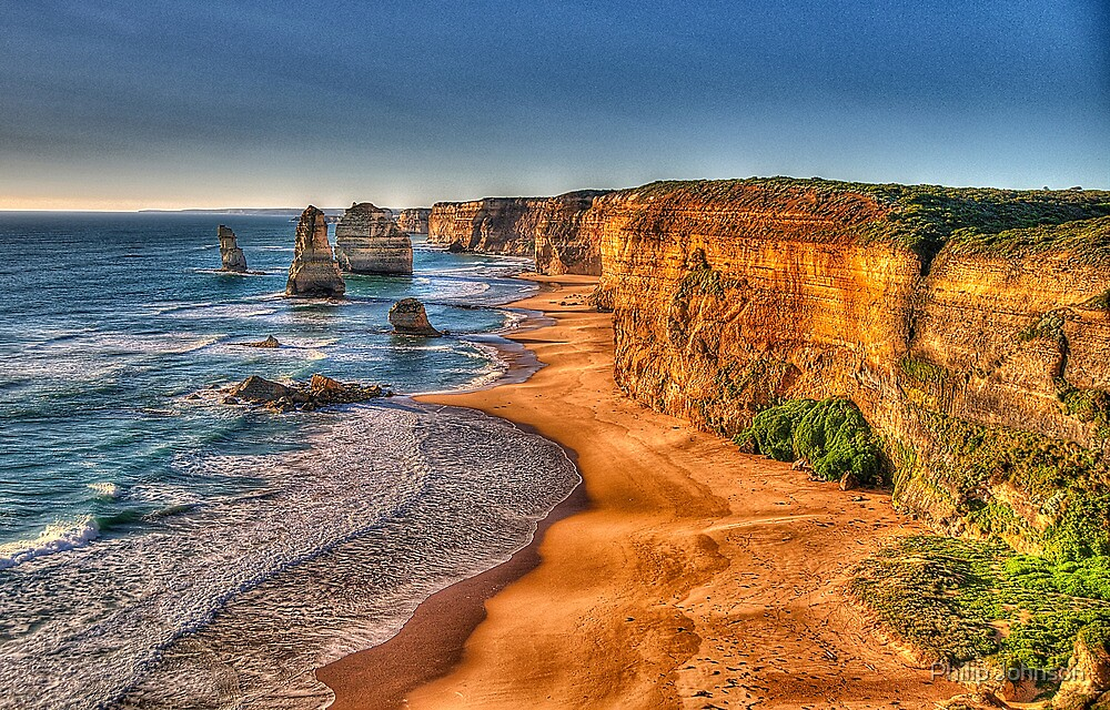 Return of the 12 - The Twelve Apostles - The HDR Experience by Philip Johnson