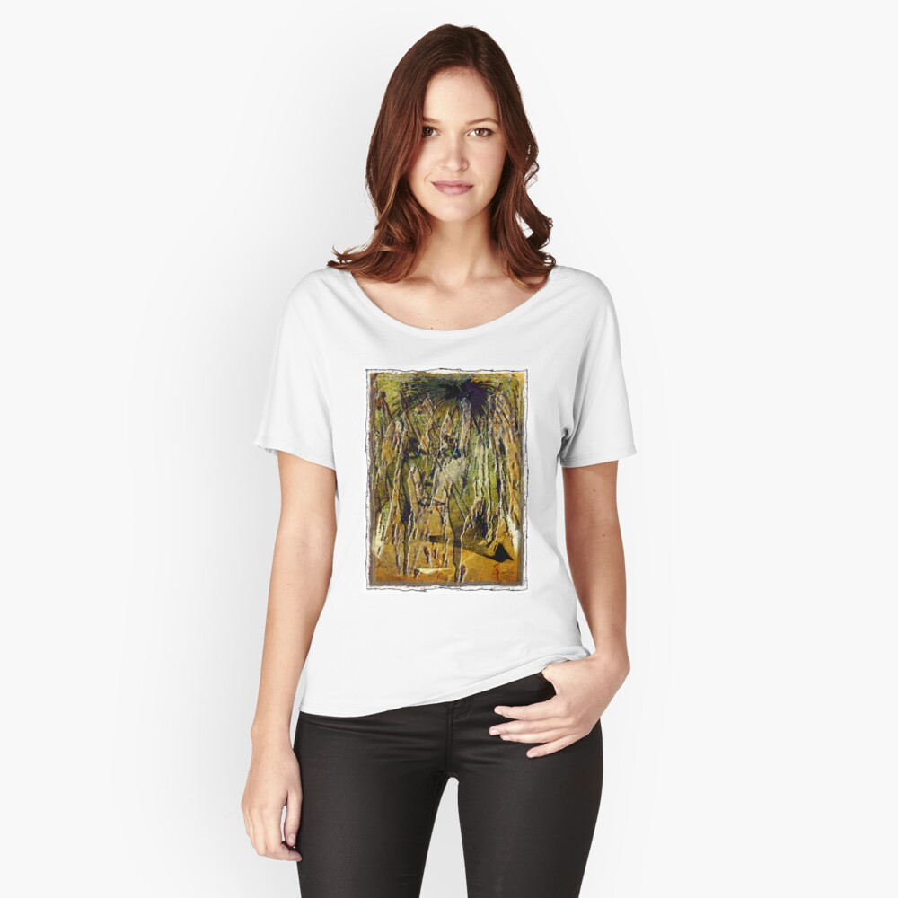 Liquid Eyes Women's Relaxed Fit T-Shirt Front