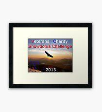 Snowdonia Challenge Framed Print