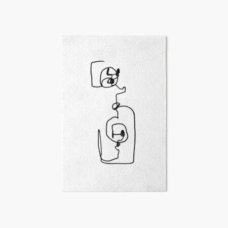 plug Art Board Print