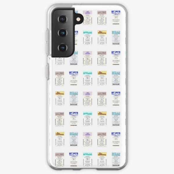 FastPass Sticker Pack Samsung Galaxy Soft Case