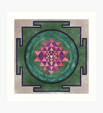 Sri Yantra 03 Art Print