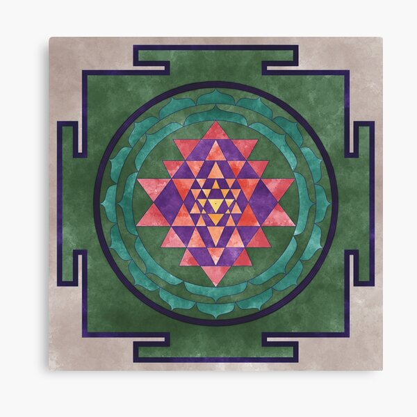 Sri Yantra 03 Canvas Print