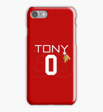Tony 0 iPhone Case/Skin