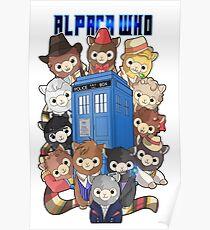 Alpaca Who Poster