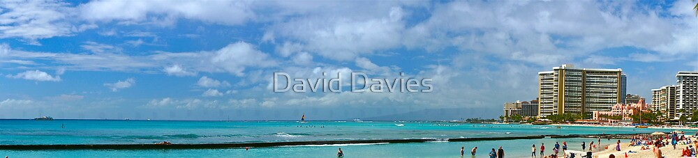 Waikiki Skies by David Davies
