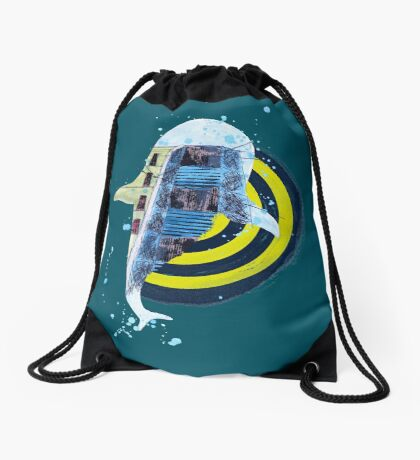 terra incognita Drawstring Bag