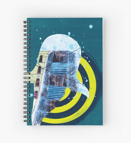 terra incognita Spiral Notebook